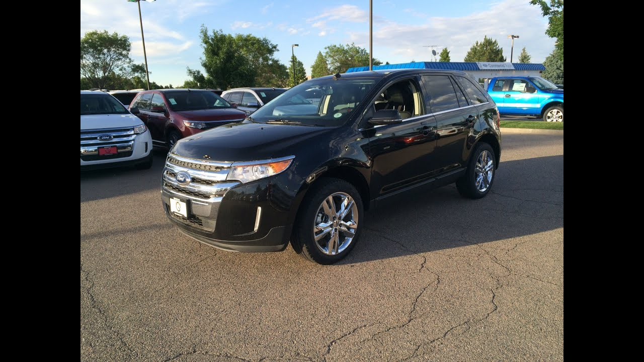 2014 ford edge limited awd start up in depth tour and. Cars Review. Best American Auto & Cars Review