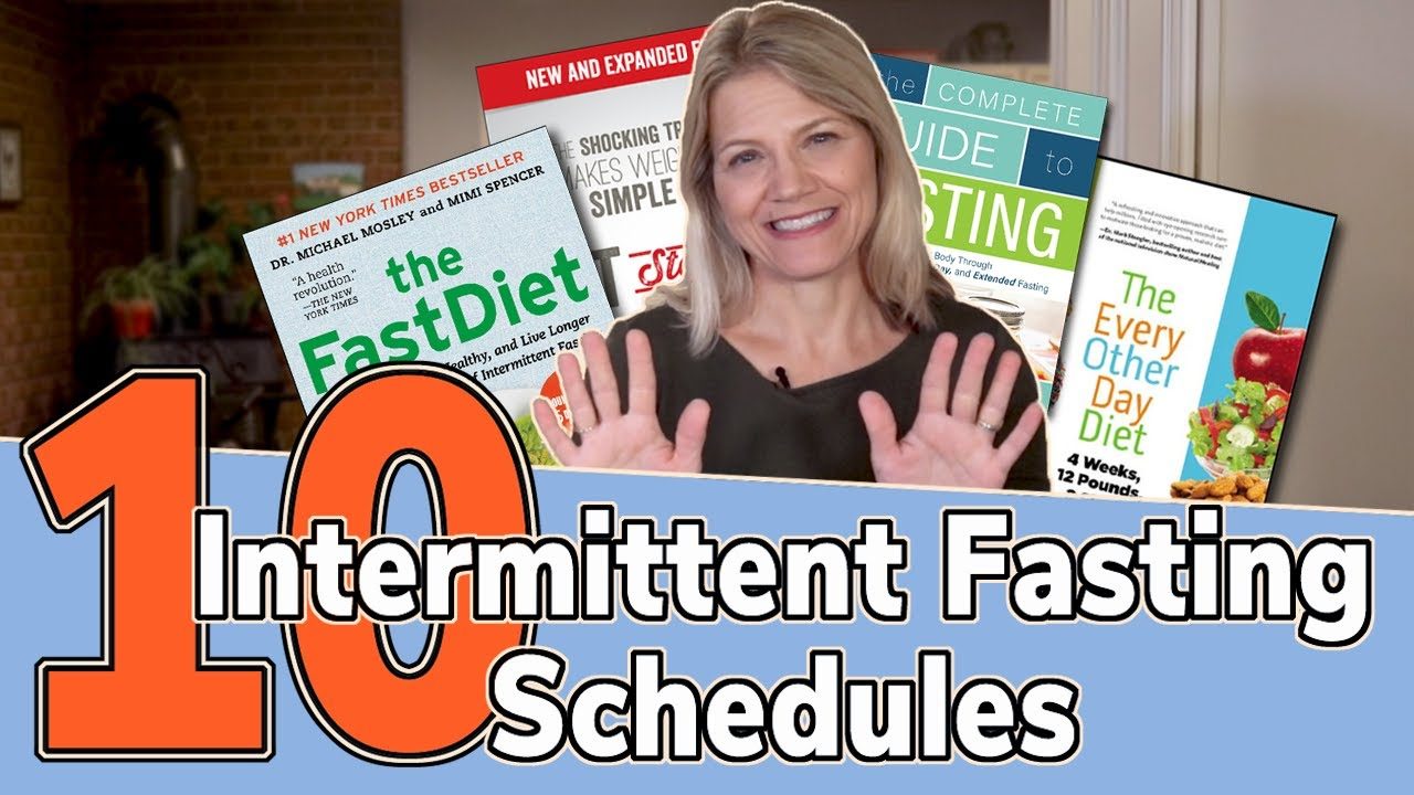 10 Intermittent Fasting Schedules for Weight Loss - Dr Becky