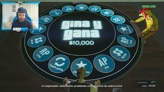 NUEVA RULETA DE LA SUERTE *GIRA Y GANA* - ARENA WAR GTA 5 ONLINE