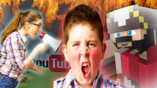BROTHER AND SISTER TURN AGAINST EACH OTHER ON MINECRAFT! (Minecraft  Trolling & Griefing)