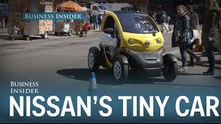 We Testdrove The Tiny Electric Car That Nissan Thinks Will Be The Future Of City Driving
