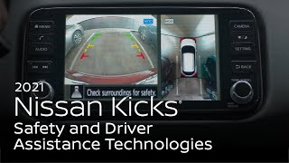 homepage tile video photo for 2021 Nissan Kicks® Safety and Driver Assistance Technologies