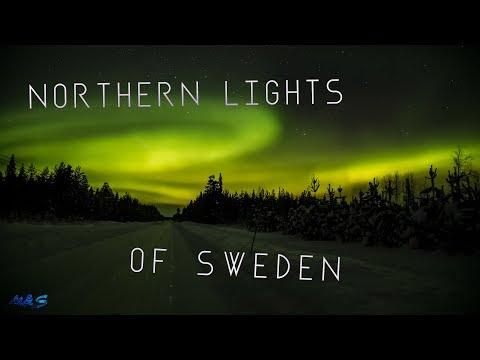 Northern Lights Of Sweden | 4K