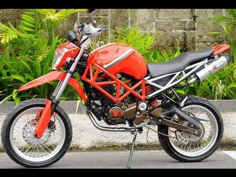 Cah Gagah Video Modifikasi Motor Yamaha Byson Supermoto Adventure