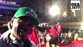 Dj Osa Jatt on deck long side 9ice on stage @ Ay Live in London 2017  #Ayliveinlondon