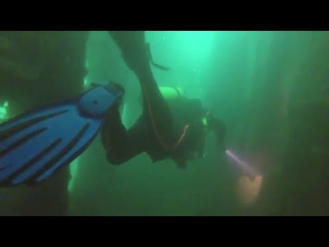 Scuba Diving - USS New York Wreck, Subic Bay, Philippines