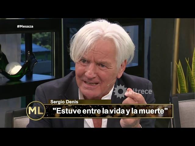 Sergio Denis contó su drama económico que casi lo lleva a la muerte
