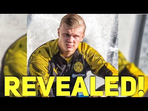 SHOCKING! Erling Haland Contract Reveals Why Manchester United Rejected Him