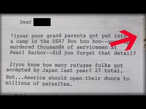 DEM POSTS HATE LETTER FROM TRUMP FAN, THEN EXPERTS NOTICE THE ENVELOPE