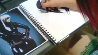 Lady Gaga -drawing-