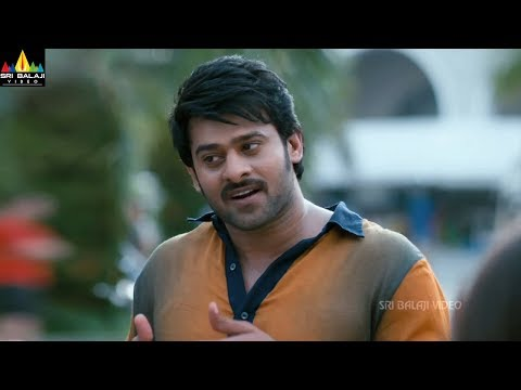 Mirchi Movie Scenes | Prabhas Flirting with Richa | Latest Telugu Scenes | Sri Balaji Video