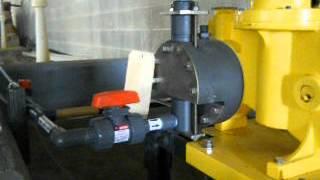 NaOH Metering Pump #1