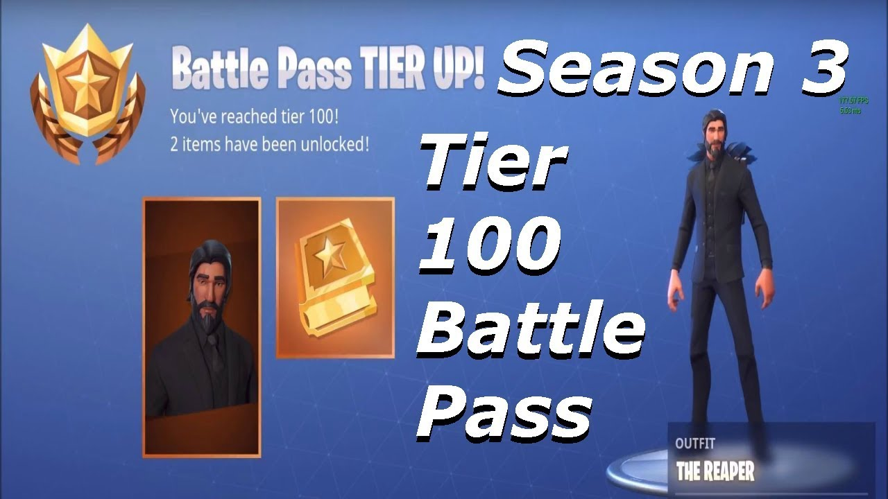 Unlocking John Wick Tier 100 Battle Pass Rewards Season 3