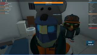 Roblox Jail sucks with these gay guards