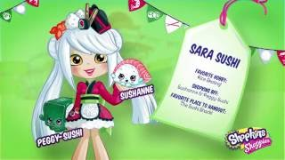 Meet the Shoppies: Sara Sushi!