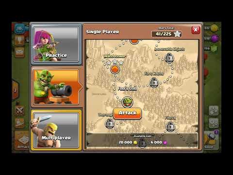 How To Get  3  Stars In FOOL'S GOLD # COC