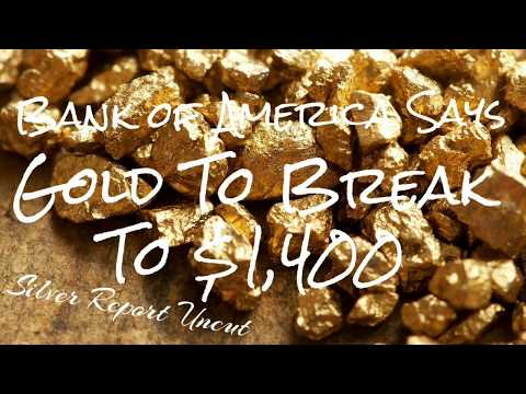 $1,400 Gold Price This Year! Major Bank Says It's Coming