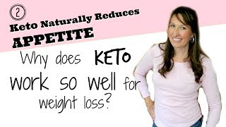 Keto Naturally Suppresses Appetite for Easier Weight Loss