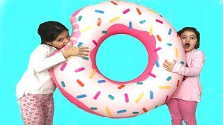 MASAL VE ÖYKÜ'NÜN KÜÇÜK DONUT'U BÜYÜK DONUT'A DÖNÜŞTÜ - Magic Big Donut