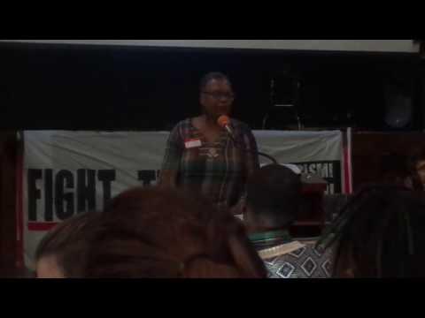 MONICA MOOREHEAD @ SOCIALISM & LIBERATION CONFAB . DR NTUBA THOMPSON AKWO