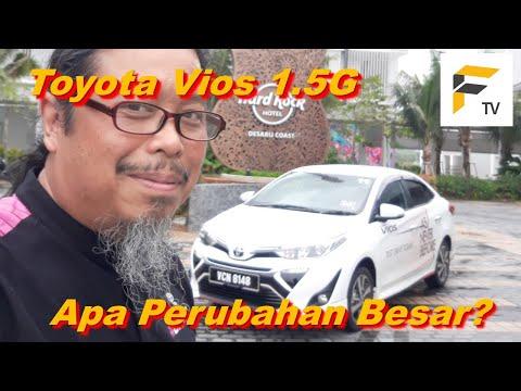 Pandu uji Toyota Vios 2019. Apa perubahan besar?