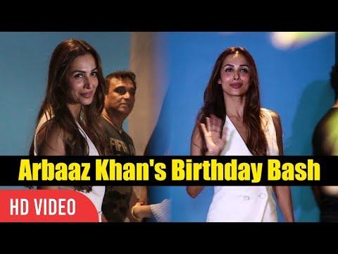 Malaika Arora Khan At Arbaaz Khan's Birthday Celebration Party Birthday Bash