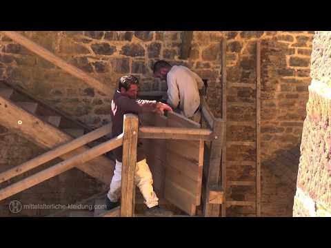 Experimentelle Archaeologie der Burgbau in Guédelon