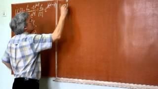 Лекция 29. Прохождение переменного тока через RC-цепочку(Выполнен расчет коэффициента пропускания гармонического сигнала для RC цепочки., 2013-04-06T10:48:54.000Z)