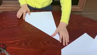 Делаем оригами из бумаги