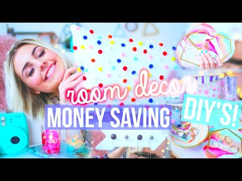 Money Saving Room Decor DIY's! | Aspyn Ovard