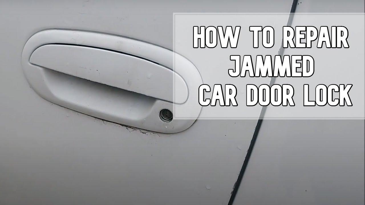 How To Repair Jammed Car Door Lock Diy Video Diy Ford Jammedlock Key Youtube