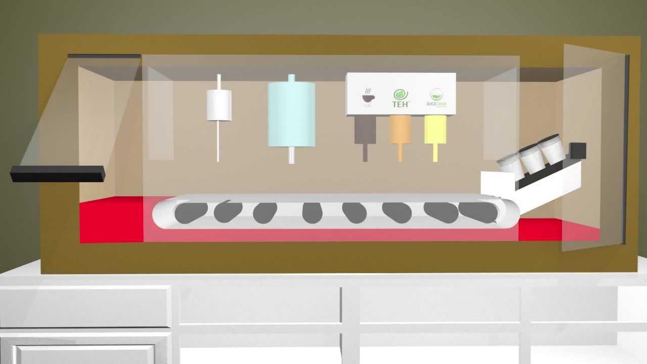 3D Animation Vending Machine Coffee, Tea, and Juice - YouTube