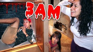 Playing Sardines in a HAUNTED MANSION at 3AM!