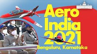 President Kovind witnesses air show at Aero India 2021 in Bengaluru, Karnataka