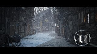 Speed Level Design - Medieval Village Scene - Unreal Engine 4