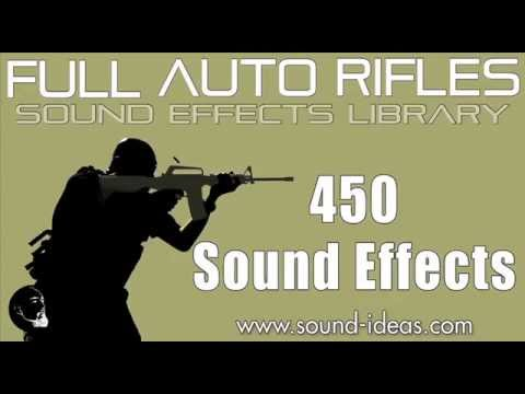 Full Auto Rifles Sound Effects