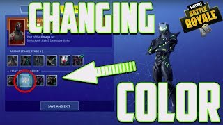Fortnite Change Skin Color - ( How to )