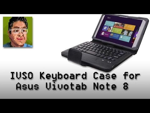 IVSO Bluetooth Keyboard Case for Asus Vivotab Note 8 Review