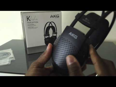 AKG K44 Perception Headphones Unboxing and Quick Review