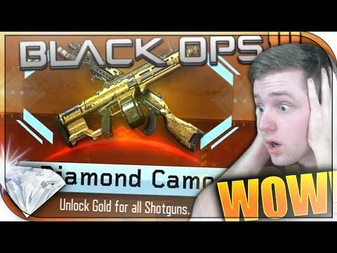UNLOCKING DIAMOND CAMO INVERTED! Black Ops 3 Diamond Camo Reaction! BO3 Diamond Shotguns