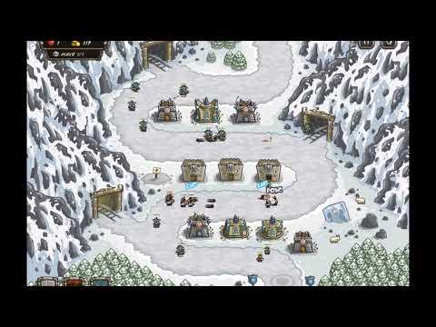 Kingdom Rush - Coldstep Mines - Iron Challenge