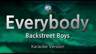 Backstreet Boys-Everybody (Melody) (Karaoke Version) [ZZang KARAOKE]