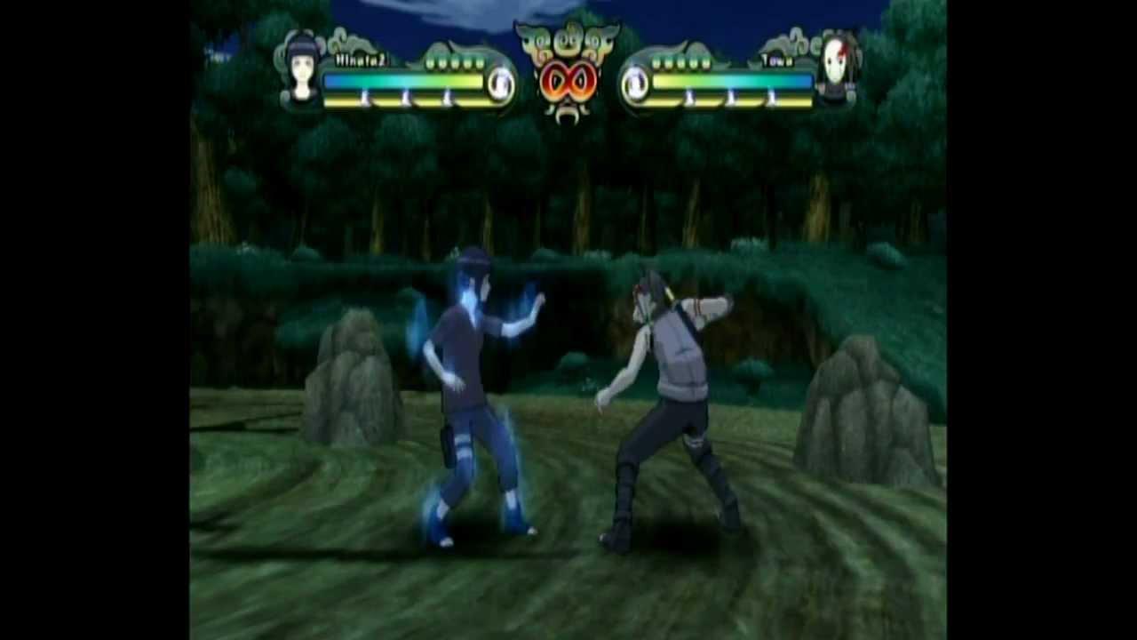 Naruto Clash Of Ninja Revolution 2 - Awakened Hinata - YouTube