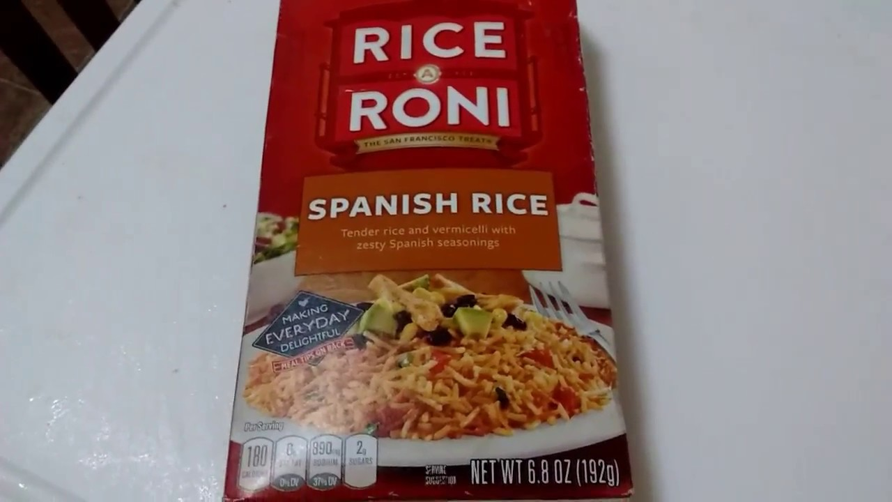 Spanish rice rice a roni youtube spanish rice rice a roni ccuart Image collections