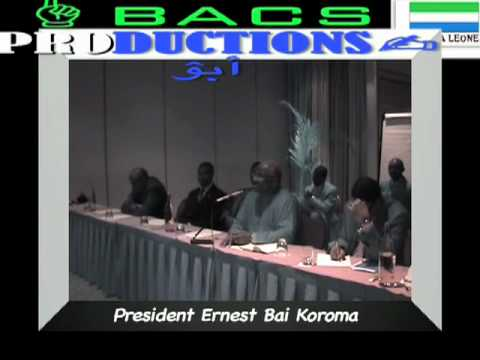 Sierra Leone president speaks on energy