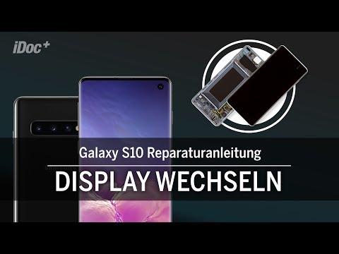 Galaxy S10 – Display Reparieren [mit Rahmen]