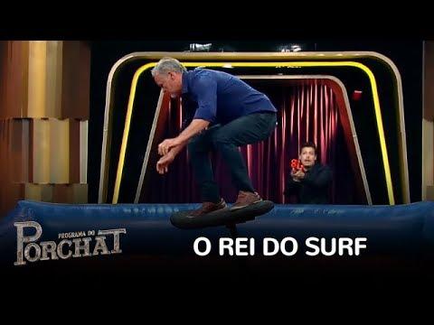 Porchat Desafia As Habilidades De Kadu Moliterno No Rei Do Surf