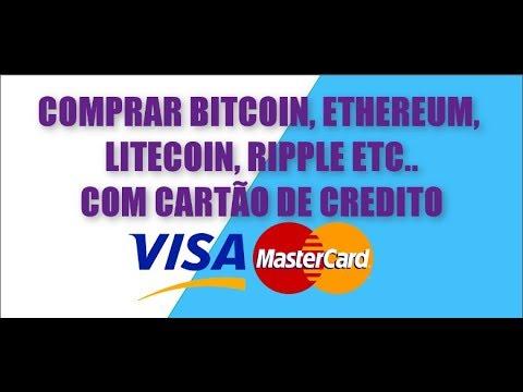 COMPRAR BITCOIN NO CARTÃO DE CREDITO E MUITAS OUTRAS MOEDAS - VISA OU MASTER CARD