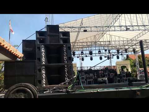 Cek Sound Ramayana Bersama Monata Live Tegal 12 Juni 2019