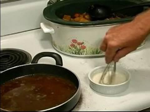 recipe: how to thicken pot roast gravy in crock pot [31]